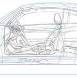 Jim Hatch - VW Beetle Cutaway Lineart