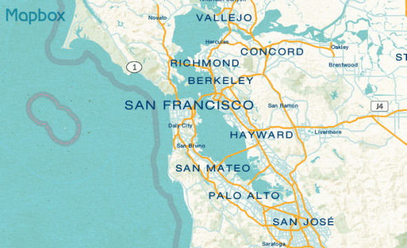 Mapbox Sample Map