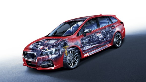 Subaru Levorg Cutaway