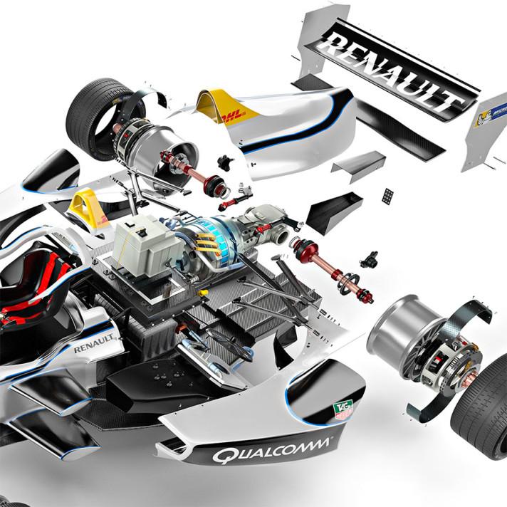Graham Murdoch - Formula E Detail