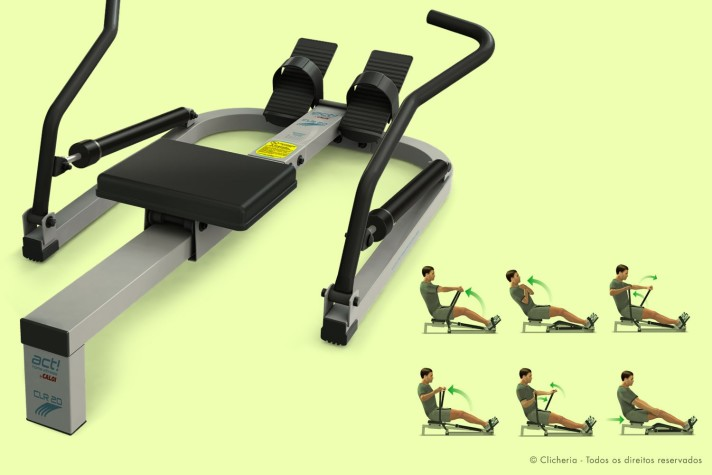 Clicheria - Rowing Machine