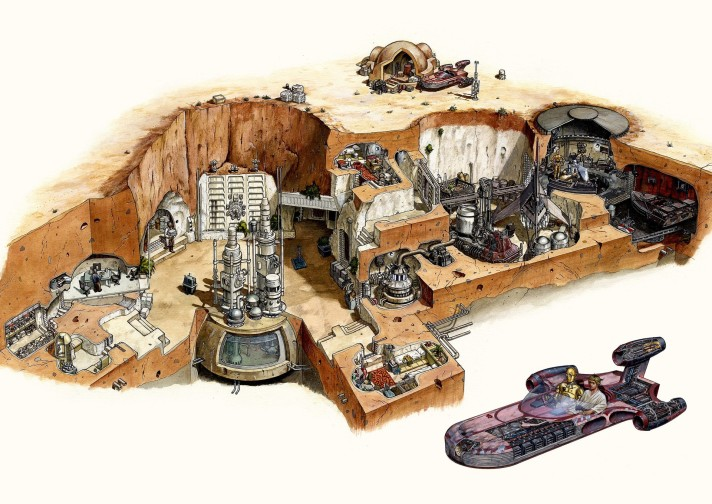 Skywalker Homestead Cutaway - Hans Jenssen