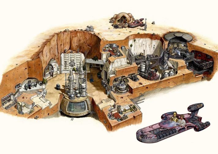 Skywalker Homestead Cutaway - Hans Jenssen