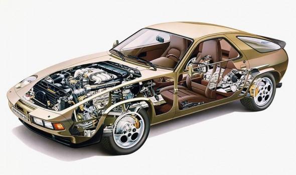 928 cutaway