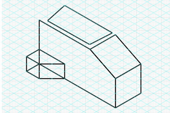 Drawing in Isometric from Orthographic Plans