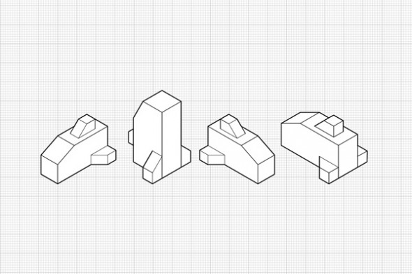 Different Isometric Views from the same Orthographic Plans