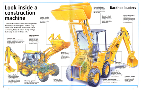 Construction Truck Illustration