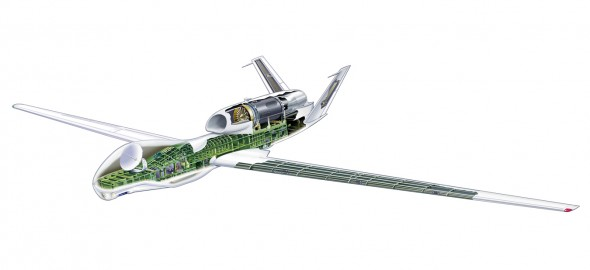 UAV Cutaway