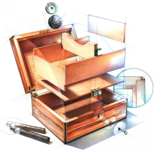 Bruce Morser - Cigar Box