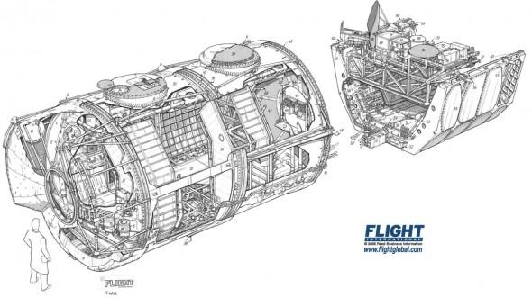Spacelab Cutaway