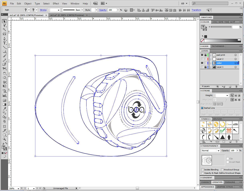 Line Art Layer : Super quick d rendering tutorial technical illustrators