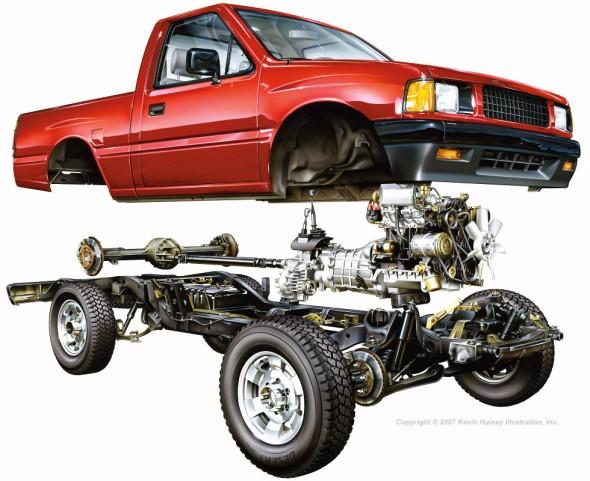 Kevin Hulsey - Pickup Truck Cutaway
