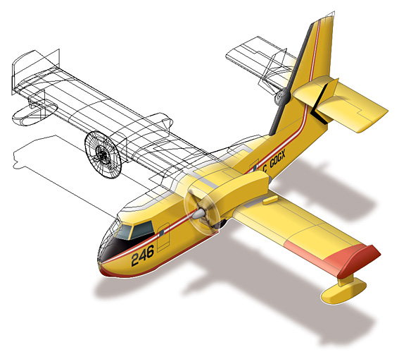 Ninian Carter - Isometric Aircraft