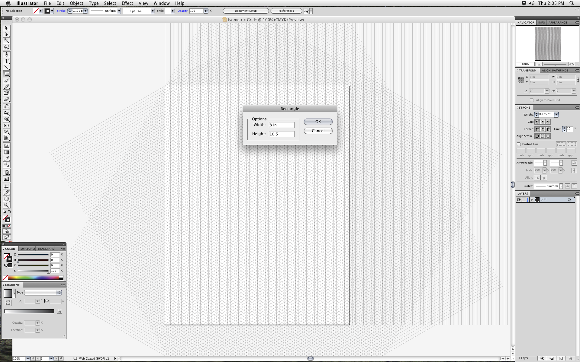 how to create an isometric grid in adobe illustrator technical