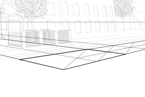 Crop Lineart Perspective